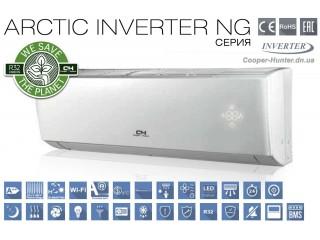 Видеообзор кондиционеров Cooper&Hunter CH-S-FTXLA-NG серии ARCTIC INVERTER NG