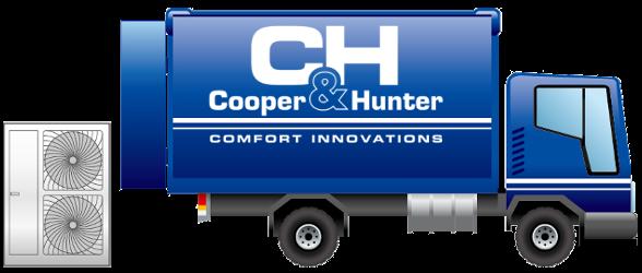Купить кондиционер Cooper&Hunter. Доставка по Украине Бесплатно!